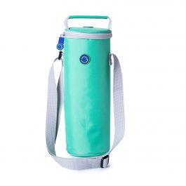 Freezable Bottle Cooler Bag - Biscay Green / Glacier Grey
