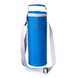 Freezable Bottle Cooler Bag - Skydiver Blue / Glacier Grey