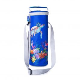 Freezable Bottle Cooler Bag - Barrier Reef