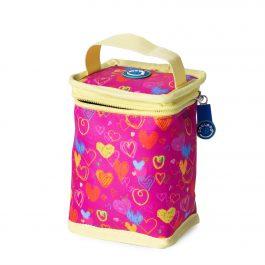 Freezable Fruit Drink Cooler Bag - Hearts