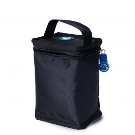Freezable Fruit Drink Cooler Bag - Black